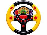 Руль музыкальный «Веселые гонки», 0582-7, игрушка