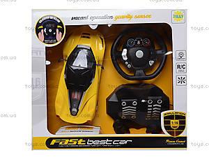 Радиоуправляемая машина с рулем и педалями, 1331-2A, магазин игрушек