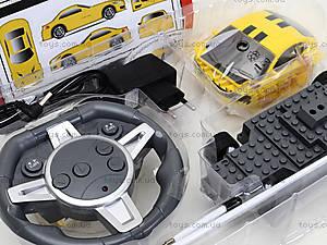 Конструктор «Детская машинка на пульте управления», 2028-1F01B3B4B6B, фото