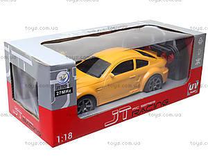 Игрушечная машина на радиоуправлении, желтая, JT220221, купить