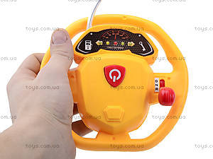 Экскаватор на радиоуправлении с пультом-рулем, 666-183FA, отзывы