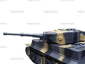 Радиоуправляемый танк «Tiger I», 168-18, детские игрушки