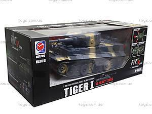 Радиоуправляемый танк «Tiger I», 168-18, магазин игрушек