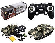 Игрушечный танк «Дивизион» на управлении, 666-TK01020304, фото