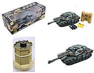 Радиоуправляемый танк с бункером, 9986399864, купить