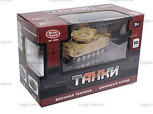 Радиоуправляемый танк PLAY SMART «Боевой танк», 9554A, купить