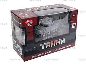 Радиоуправляемый танк PLAY SMART «Боевой танк», 9554A, отзывы