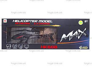 Вертолет на радиоуправлении с гироскопом Max, HK608, игрушки