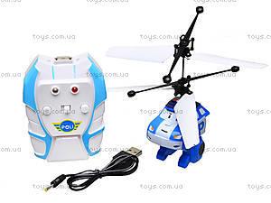 Вертолет на радиоуправлении Robocar Poli, TL8018, детские игрушки