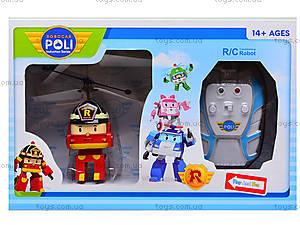 Вертолет на радиоуправлении Robocar Poli, TL8018, toys