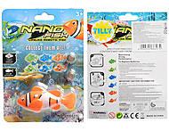 Рыбка NANO FISH на батарейках, JH6605, отзывы
