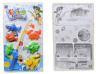 Детская игра «Рыбалка», 6 рыбок, SFY-C65