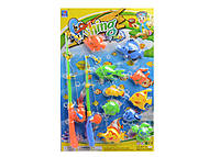 Игрушечная рыбалка, 10 рыбок, SFY-6353, купить