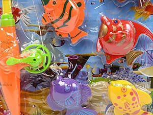 Игрушечная рыбалка на 9 рыбок, 2032-8, фото