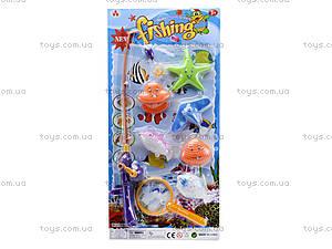 Игрушечная рыбалка с сачком, 2204B, фото
