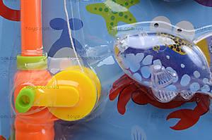 Игрушечная рыбалка с удочкой и рыбками, 3320K, фото