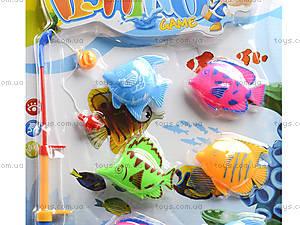 Рыбалка с сачком 8 рыбок, 6801-2, фото