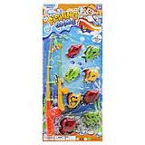 """Рыбалка детская магнитная """"Fishing Game"""", 336-10, игрушка"""