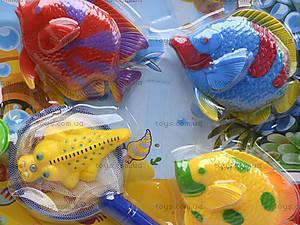 Игрушечная рыбалка для детей, 8 рыбок, E3-2, фото