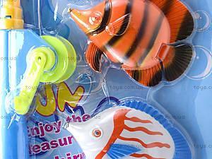 Детская игра «Рыбалка», 4 рыбки, FJ1004-3, фото