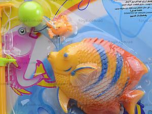 Детская рыбалка с удочкой и 4 рыбками, FJ1004-4