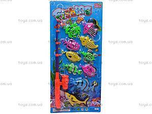 Рыбалка игрушечная и десять рыбок, 777-10