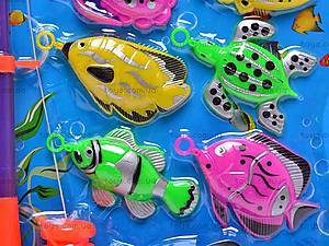 Рыбалка игрушечная и десять рыбок, 777-10, купить