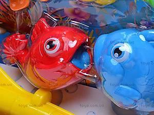 Рыбалка магнитная с удочкой, BW30024-1, игрушки