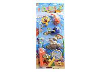 Магнитная рыбалка с рыбками и черепашкой, 13595, интернет магазин22 игрушки Украина