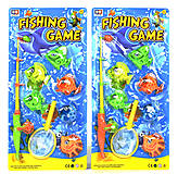 Рыбалка магнитная 2 вида 6 рыбок и 1 сачок, 325A-101, детские игрушки