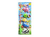 5 морских животных и магнитная удочка, 999-5A, игрушки