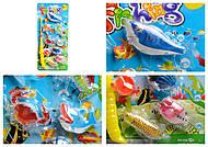 7 морских животных на планшетке, 555-10A15A, детские игрушки