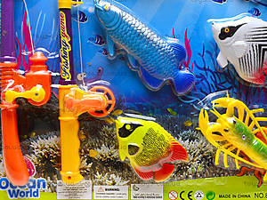 Рыбалка с магнитом «Морские жители», 888-10-11, фото