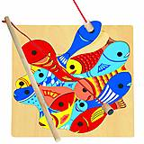 Пазл магнитный детский «Рыбалка», 82737, фото