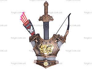 Рыцарский набор с мечом и доспехами, 528-02B
