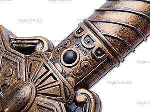 Рыцарский набор с мечом и доспехами, 528-02B, детские игрушки