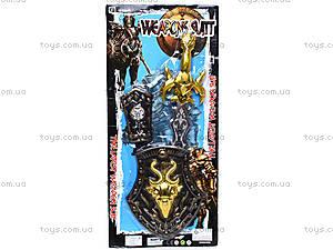 Рыцарский набор с мечом и щитом, 6129-10A/6108-4A