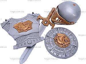 Рыцарский набор со шлемом и мечом, 6902