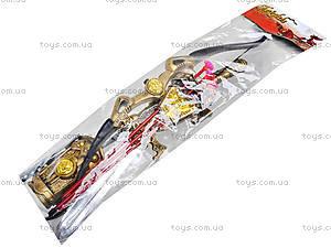 Рыцарский набор для детей «Лучник», 6656B, игрушки