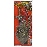 Рыцарский набор (меч, лук, щит, колчан), 63536, цена