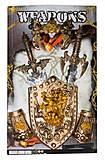 Рыцарский набор с мечем и щитом, 333-29, купить