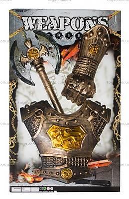 Рыцарский набор с топором и броней, 333-27