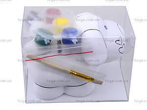 Детский набор для рисования по керамике «Копилка Песик», 94175, купить