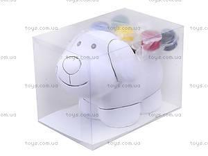 Детский набор для рисования по керамике «Копилка Песик», 94175, цена