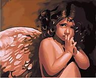 Рисование по номерам «Ангелочек», КН295, купить