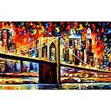 Рисование по номерам «Бруклинский мост», КН2138, отзывы