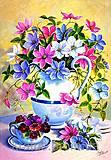Рисование по номерам «Цветочная поэзия», КН2049, фото