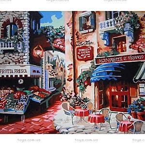 Рисование по номерам «Кафе на углу улицы», КН078