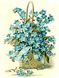Рисование по номерам «Корзинка цветов», КНО2052, фото