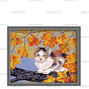 Рисование по номерам «Непослушный котенок», КН021